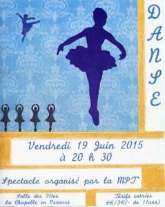 affiche danse2015