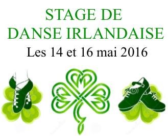 14 & 16 mai : danse irlandaise